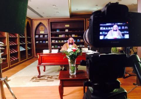 كواليس برنامج «سيدة نساء الجنة» مع الدكتور عبد العزيز الحميدي